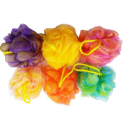 Homep Bath Sponges Large Size, Assorted Colours