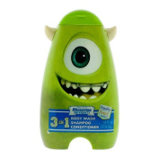 Disney Monsters University 3in1 Body Wash, Shampoo Conditioner Freaky Fruit Mike