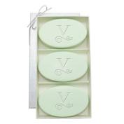 Carved Solutions Signature Spa Trio Green Tea & Bergamont-Pi-Flourish-B Soap