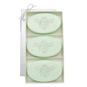 Carved Solutions Signature Spa Trio Green Tea & Bergamont-Bee Soap