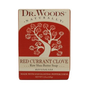 Dr. Woods Bar Soap Red Currant Clove, 160ml, Pack of 6