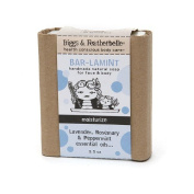 Biggs & Featherbelle Bar-lamint, Handmade Natural Bar Soap for Face & Body, Moisturise