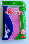 Magic Korean Beauty Towel Body Back Scrub By Jungjun Industry 정준산업 요술때밀이타올