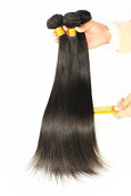 Brazilian Silky Straight Hair Unprocessed Human Virgin Hair Remy Hair Extension Weave Weft Natural Colour 100g/bundle 3 Bundles