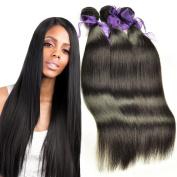 Brazilian Silky Straight Hair Unprocessed Human Virgin Hair Remy Hair Extension Weave Weft Natural Colour 100g/bundle 3 Bundles