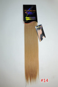 """Rainbow Hair 100% Natural Remi Human Hair Micro Tape-in Extensions 18"""" Inches Tape-in Straight Hair Extensions"""