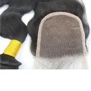 LaNova Beauty Brazilian Hair Body Wave,Size:41cm ,Lace Closure Body Wave,Natural Colour,1pc/lot,40g/pc,Remy Weave