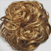 KATIE 18cm Pony Fastener Hair Scrunchie 19-Light Strawberry Blonde