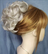 HAYLEY Clip On HairPiece by Mona Lisa 59 Grey with 5% Black