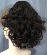 DAWN Clip On Hairpiece by Mona Lisa 2-Darkest Brown