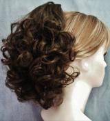 DAWN Clip On Hairpiece by Mona Lisa 10-Medium Brown