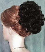 HAYLEY Clip On Hairpiece by Mona Lisa 2-Darkest Brown