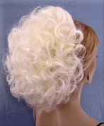 DAWN Clip On Hairpiece by Mona Lisa 613A White Blonde