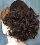 DAWN Clip On Hairpiece Wig by Mona Lisa 6-Dark Chestnut Brown