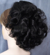 DAWN Clip On Hairpiece by Mona Lisa 1-Jet Black