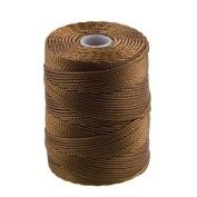 C-Lon Bead Cord, Chestnut