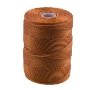 C-Lon Bead Cord, Light Copper