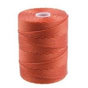 C-Lon Bead Cord, Neon Orange