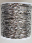 Silver Metallic Cord Non-Stretch 0.8mm 100M/Roll
