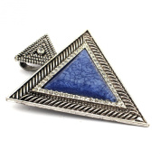 PendantScarf Antique Retro Jewellery Large Triangle Necklace Scarf Jewellery Pendant Accessories