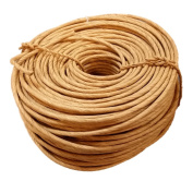 Fibre Rush 6/32 in a 0.9kg Coil (90m) Kraft Brown Fibre Rush Ladderback Chairs Seating Material (6/32