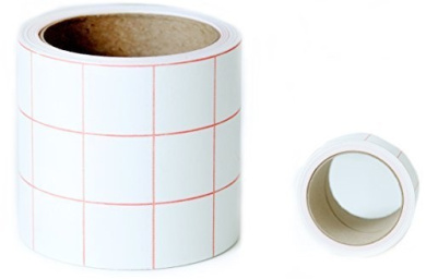 Premium TRANSFER PAPER Tape - 7.6cm X 7.6m Roll with GRID for even cutting, Best with Adhesive Vinyl from Provo Craft CRICUT, Silhouette CAMEO or PORTRAIT & other Printers, Signs, Punches, Die Cutters for Scrapbooking or Wall Home Decor, Windows ..