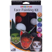 Halloween Face Painting Palette Kit