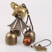 Feng Shui Chinese Elephant Wind Charm Hanging for Wealth