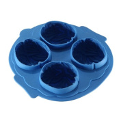 Cool Brain-Shaped Ice Cube Trays Freeze Mould Ice Maker Mould