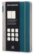 Moleskine Pro Collection Professional Notebook, Large, Tide Green, Hard Cover