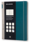 Moleskine Pro Collection Professional Notebook, Extra Large, Tide Green, Hard Cover
