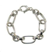 OWC Sterling Silver Alternata Link Bracelet