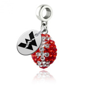 Western State Colorado Mountaineers Football Drop Charm