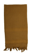 COYOTE BROWN SOLID colour SHEMAGH-TACTICAL DESERT SCARF