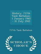 History, 717th Tank Battalion