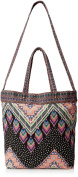 LuLu Woven Tote Bag with Strap Cross Body Bag