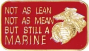 U.S. Marine Corps Lean, Mean Lapel Pin or Hat Pin