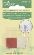 Petite Needle Threader & Cutter-2/Pkg