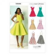 Vogue Patterns V8998 Misses' Dress Sewing Template, Size A5