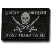 Calico Jack Tactical Patch - Black by Gadsden and Culpeper