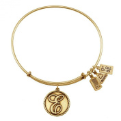Wind and Fire Women's Love Letter Charm Bangle