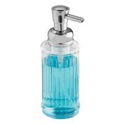 InterDesign Ella Foaming Soap Pump, Clear/Chrome