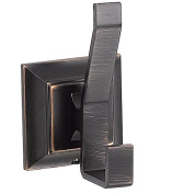 Designers Impressions 500 Series Oil Rubbed Bronze Double Robe Hook