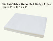 InteVision 400 Thread Count, 100% Egyptian Cotton Bed Wedge Pillowcase. Designed to Fit the InteVision Ortho Bed Wedge Pillow