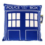 Doctor Who Throw Pillow - Square Dr. Who TARDIS Cushion - 41cm x 41cm