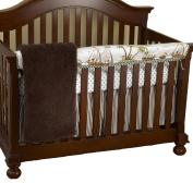 Cotton Tale Designs Front Crib Rail Cover Up Set, Aye Matie