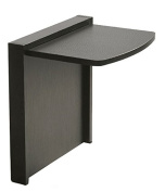 Mullner Tuc-Away Tables MTC-2136-BLK Folding End Table, Black