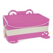 P'Kolino Mess Eater Toy Trunk Storage, Pink