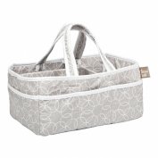 Trend Lab Circles Grey Storage Caddy