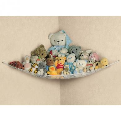 Large Soft Toy Hammock Mesh Baby Kids Bedroom Tidy Storage Nursery Net